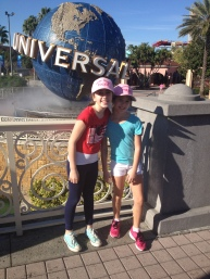 Supporting The Pink Hat Campaign in Universal!